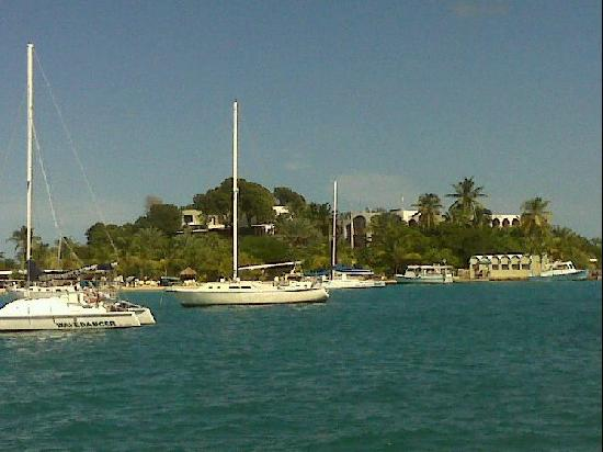 Hotel on the Cay : view of HOTC from Christiansted