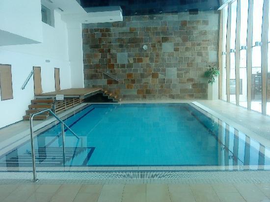Hotel Edelweiss: The pool, eau pas super chaude par contre...