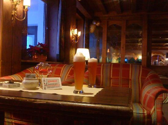 Hotel Edelweiss: Apéro, au chaud ;o)