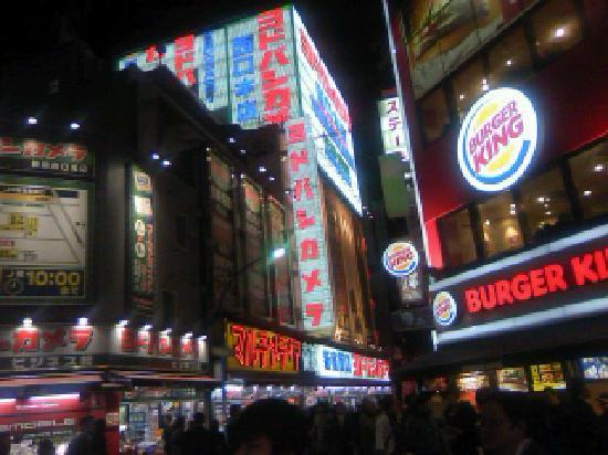 Shinjuku West Exit Camera Town : 新宿西口
