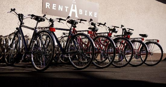 Ahotel hotel Ljubljana - rent a bike