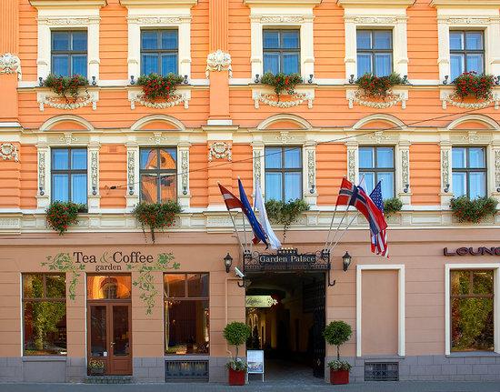 Hotel Garden Palace: Facade