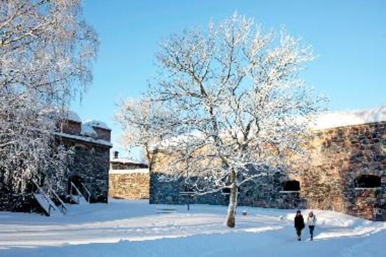 Winter day in Suomenlinna