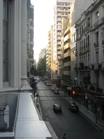 El Sol Hostel Recoleta: our balcony view