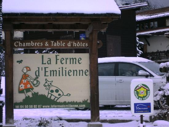 Sallanches, France : LA FERME