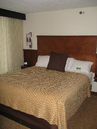 Hyatt Place Charlotte/Arrowood: Bed
