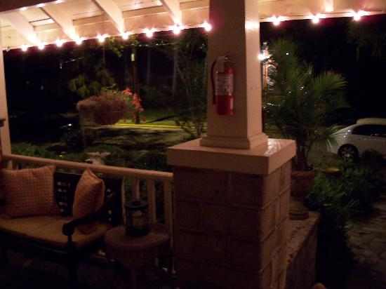 The Saragossa Inn B&B : View from Front Porch (there are more)
