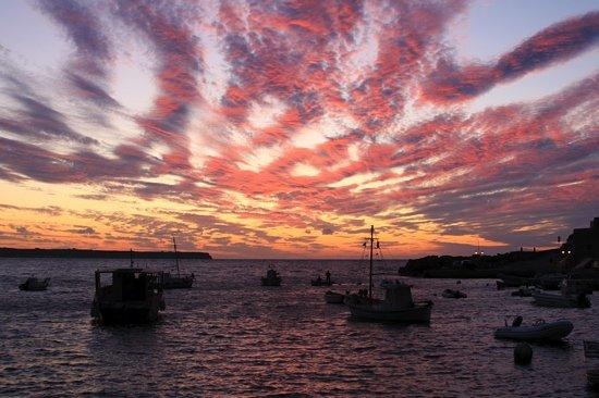 Santorin, Griechenland: sunset