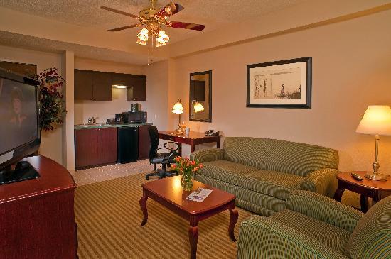 Hampton Inn Palm Beach Gardens: King Suite Living room