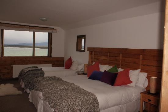 Weskar Patagonian Lodge: Triple Room