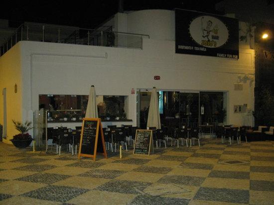 Jojo's Bar : the restaurant