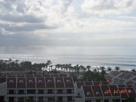 H10 Las Palmeras: vistas desde la habitación del paseo marítimo