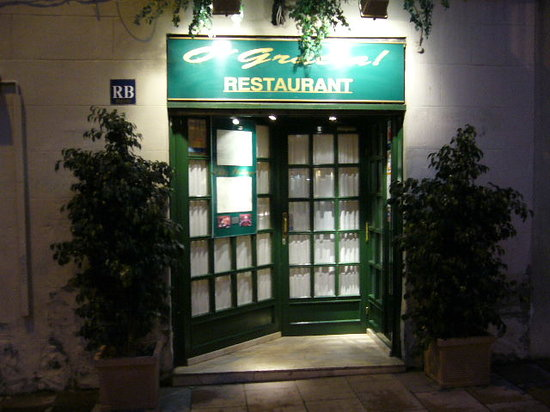O' Gracia Restaurant : entrada
