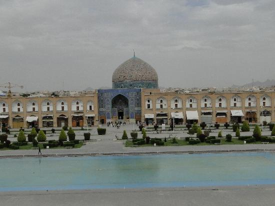 Esfahan, Iran: Imam Mosque seen from