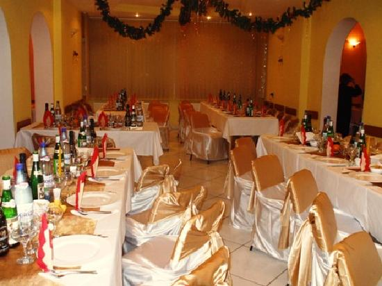 Hotel Restaurant Mures: The restaurant on New Year's Eve 2008