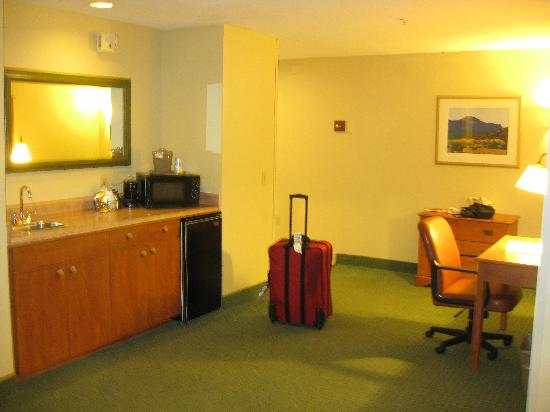 Hampton Inn Sedona: King Room, handicapped accessible