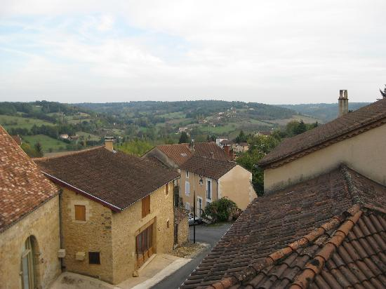 Hotel le Clement V: View