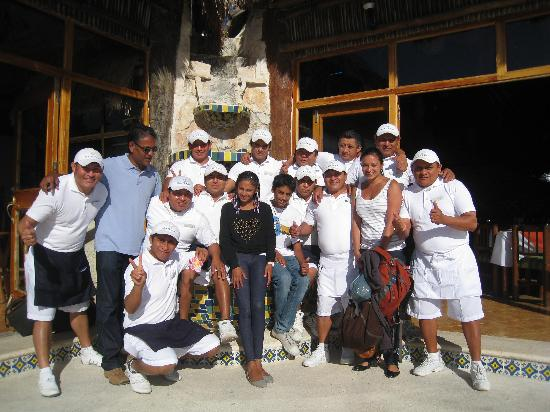 Mahekal Beach Resort: The staff at Mahekal