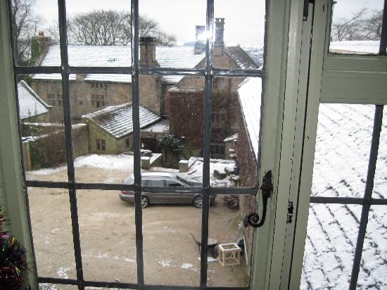 Riber Hall: View from Room 5