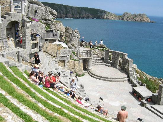 Minack Theatre: One of the amazing views
