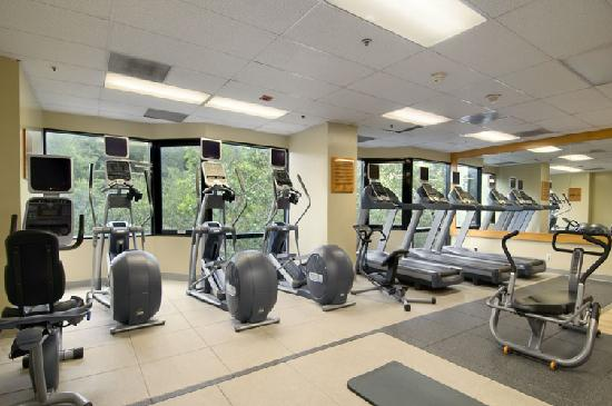 Hilton Los Angeles/Universal City: Fitness Center Cardio Room