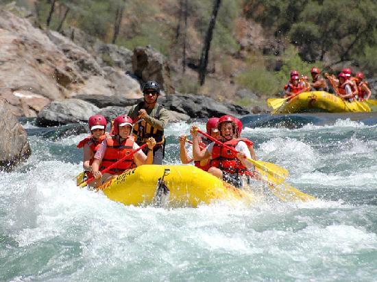 O.A.R.S. California Rafting - Day Tours: California high water spring rafting