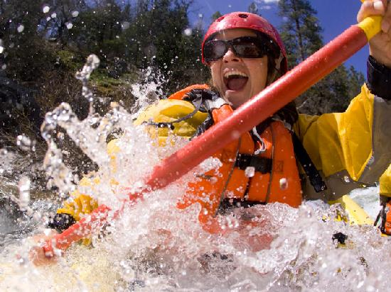 O.A.R.S. California Rafting - Day Tours: North Fork of the Stanislaus, Big Trees State Park