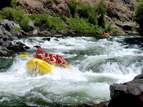 O.A.R.S. California Rafting: White water rafting near Big Trees State Park