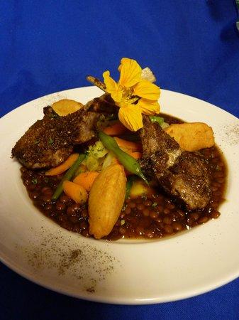 Allegra Restaurant : Moroccan veal