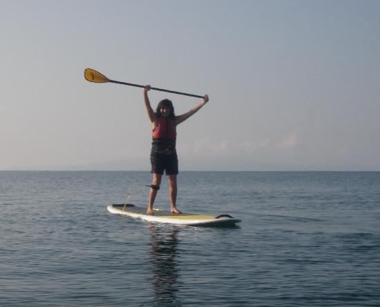 Пайя, Гавайи: I was so excited to finally be stand up paddling!