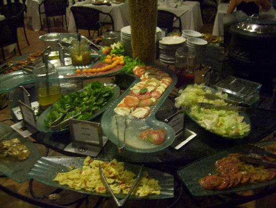 Antipasto Bar At Italian Rest Picture Of The Tropical At