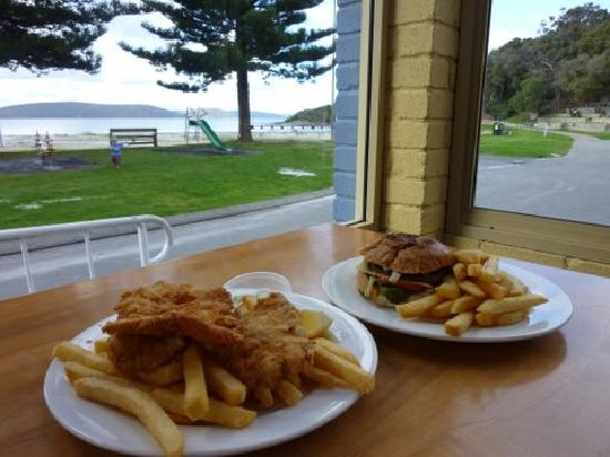 Albany, Australia: Lunch at Calamari's
