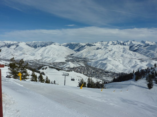 Sun Valley, ID: View from Roundhouse