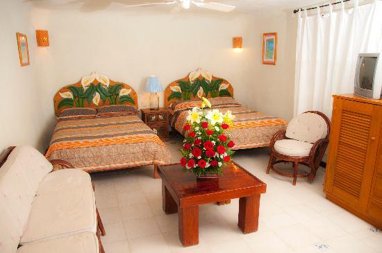 Hotel La Joya: One of our rooms