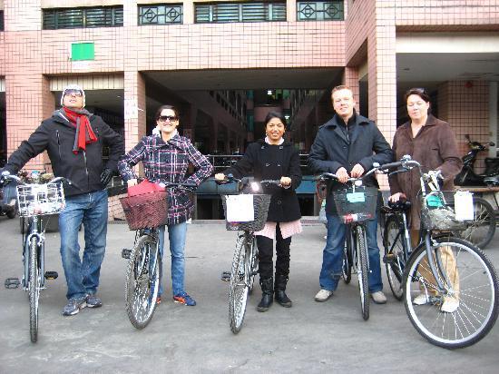 Biking Trail-China Outside Adventure: Starting the journey!