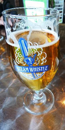 Steam Whistle Brewery: Steam Whistle beer