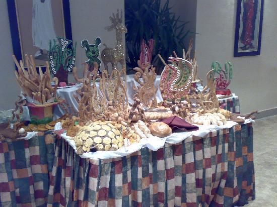 Labranda Tower Bay : il pane alla cena di Natale