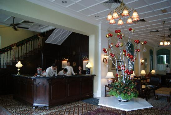 The Majestic Malacca: The quaint hotel lobby