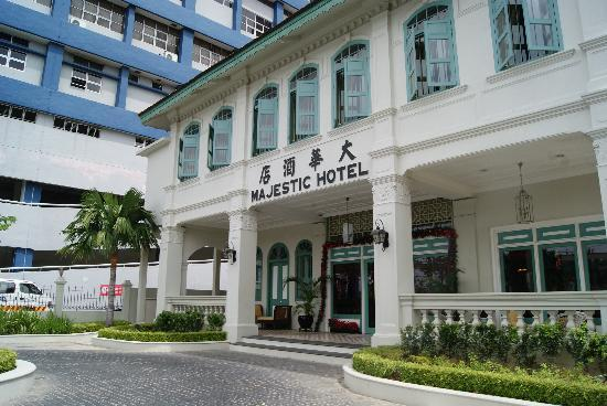 The Majestic Malacca: A view of the hotel exterior