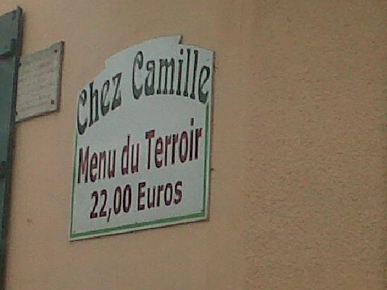 Chez Camille: promesse tenue !