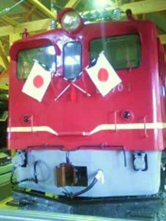 Nagahama Railway Square : 最初の実用交流電気機関車ED70-1