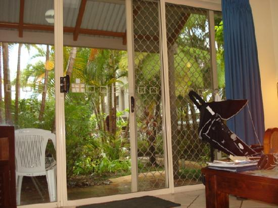 Islander Noosa Resort: View from Inside our Villa