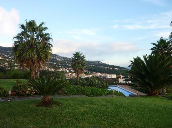 Quinta Alegre: Blick zum Pool