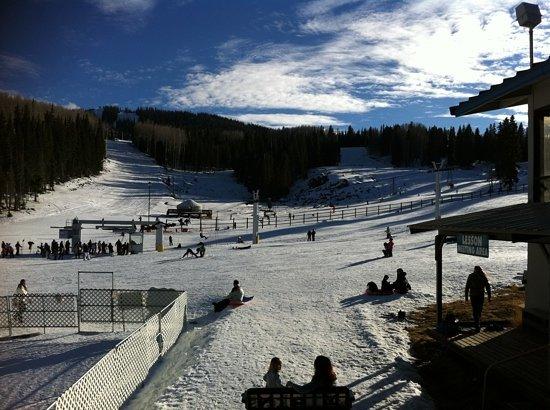 Greer, อาริโซน่า: sunrise ski park. foto: fuco urrea