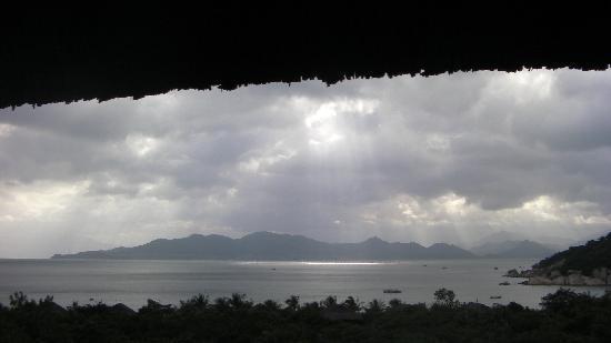 Six Senses Ninh Van Bay : View form the living-room house of Spa Suite Villa 04