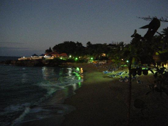 Casa Marina Reef: notre plage le soir