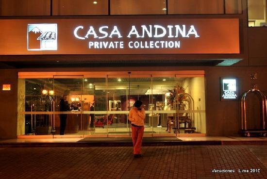 Casa Andina Private Collection Miraflores: entrada principal