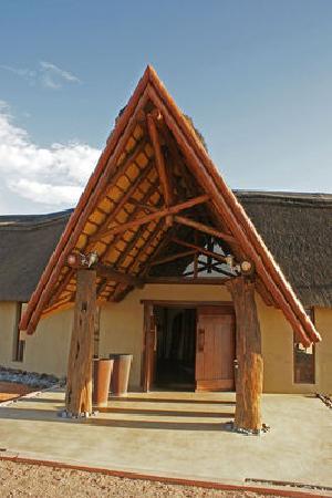 Hoodia Desert Lodge: Eingang