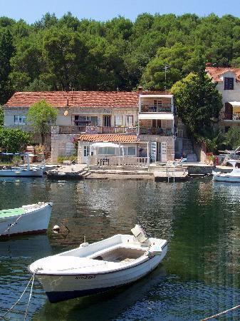 Korcula Waterfront Accommodation: A quiet and peaceful location, within easy access of town and beaches