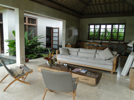 Chapung SeBali Resort and Spa : living room